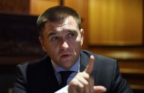 Ngoại trưởng Ukraine Pavlo Klimkin lên tiếng rằng cuộc chiến chiếm lại Crimea từ Nga vẫn chưa kết thúc. Ảnh: AFP