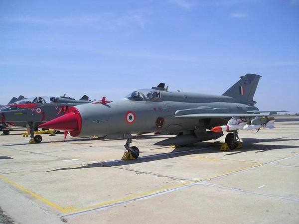 Máy bay chiến đấu MiG 21 Bison của Không quân Ấn Độ. Ảnh: WIKIPEDIA