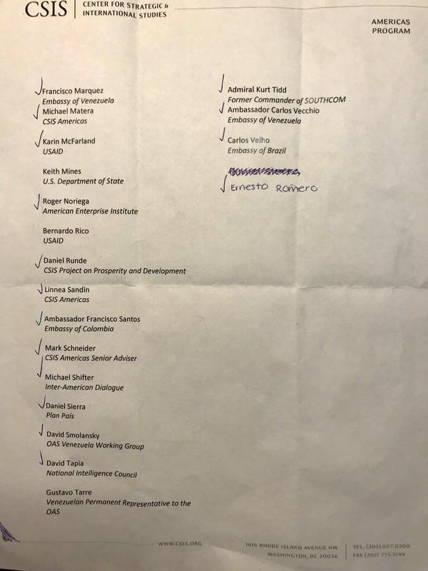 Danh sách nhà báo Max Blumenthal thu thập được. Ảnh: TWITTER