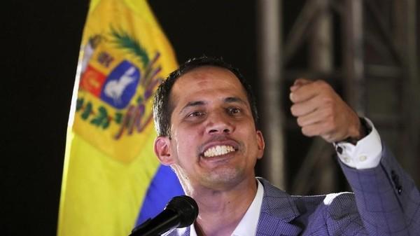Lãnh đạo đối lập, tổng thống tự xưng Venezuela Juan Guaido. Ảnh: REUTERS