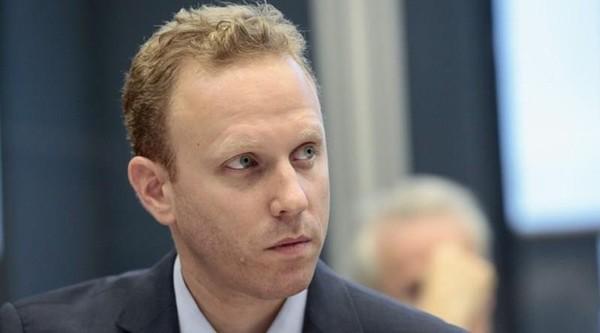 Nhà báo Max Blumenthal. Ảnh: NATIONAL REVIEW