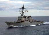Hai tàu chiến Mỹ mang tên lửa Tomahawk tiến vào Vịnh Ba Tư