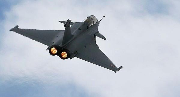 Máy bay chiến đấu Dassault Rafale của Pháp. Ảnh: REUTERS
