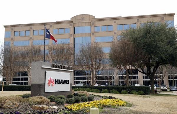 Trụ sở Huawei ở Texas (Mỹ). Huawei bị Mỹ cáo buộc ăn cắp bí mật thương mại từ công ty công nghệ T-Mobile của Mỹ. Ảnh: AP