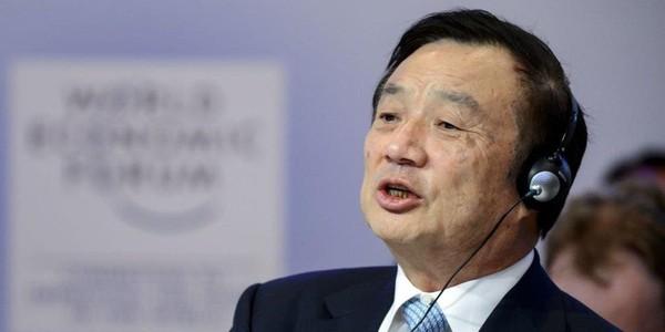 Nhà sáng lập Huawei Nhậm Chính Phi nói Mỹ đã đánh giá thấp Huawei. Ảnh: FABRICE