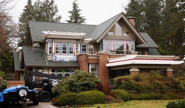 Nhà riêng của bà Mạnh Vãn Châu tại Vancouver, nơi bà đang tại ngoại có bảo lãnh chờ Canada xem xét dẫn độ sang Mỹ. Ảnh: REUTERS