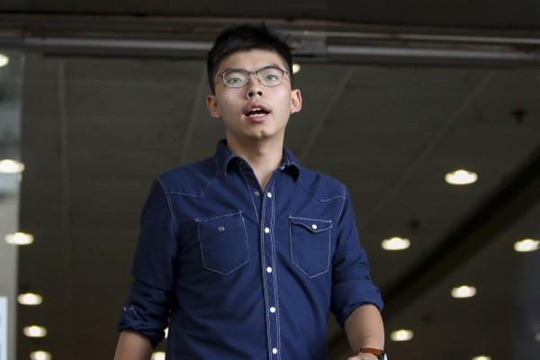 Hoàng Chi Phong đã được thả và được phép rời Hong Kong sang Đức và Mỹ. Ảnh: SCMP