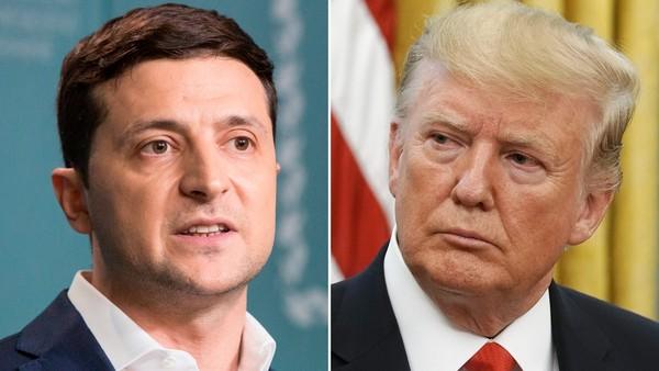 Tổng thống Mỹ Donald Trump (phải) sẽ có cuộc gặp với Tổng thống Ukraine Volodymyr Zelensky (trái) bên lề kỳ họp Đại Hội đồng LHQ lần này. Ảnh: REUTERS