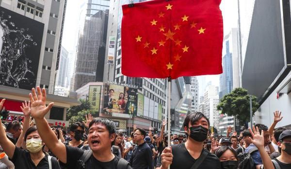 Người biểu tình tập trung ở Causeway Bay trong một đợt biểu tình trước. Ảnh: SCMP