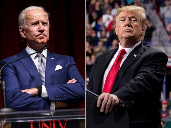 Cựu Phó Tổng thống Mỹ, ứng viên tổng thống Mỹ 2020 Joe Biden (trái) và đương kim Tổng thống Mỹ Donald Trump (phải). Ảnh: ABC NEWS