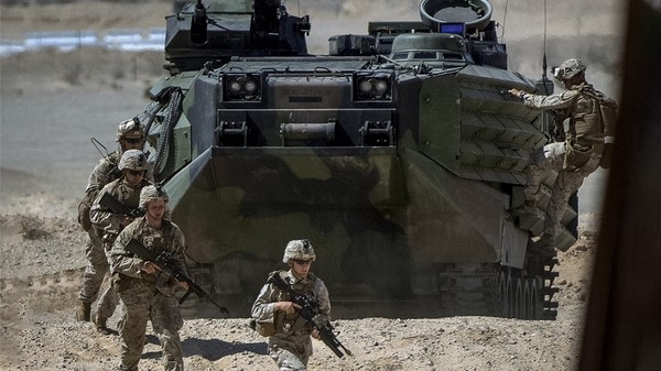 Lính Mỹ tại Saudi Arabia. Ảnh: REUTERS