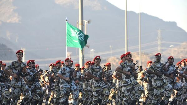 Lực lượng đặc biệt của Bộ An ninh nội địa Saudi Arabia. Ảnh: AFP