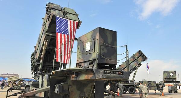Hệ thống phòng không Patriot của Mỹ được triển khai ở Hàn Quốc. Ảnh: AFP