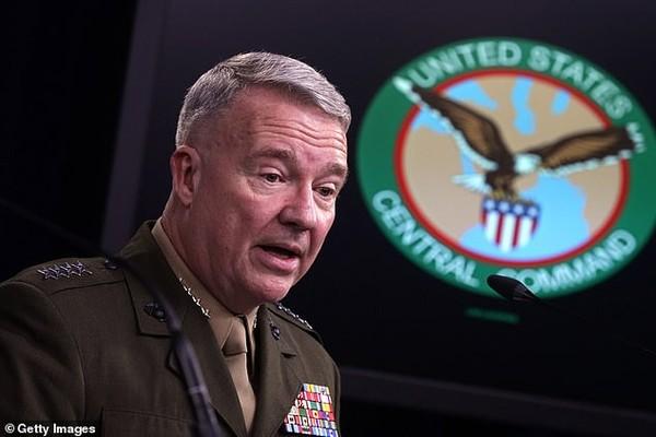 Tướng Kenneth F. McKenzie – Chỉ huy Bộ Tư lệnh miền Trung của Mỹ cảnh báo Iran khả năng sẽ lại tấn công các nhà máy lọc dầu của Saudi Arabia. Ảnh: GETTY IMAGES