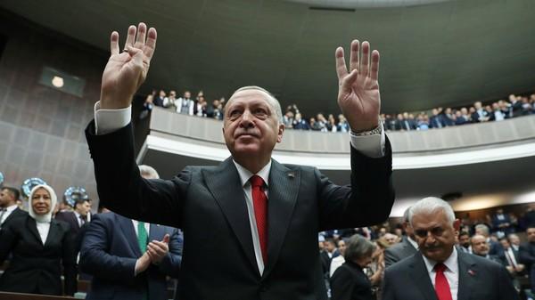 Tổng thống Thổ Nhĩ Kỳ Recep Tayyip Erdogan nói có thể đưa quân đến Tripoli (Lybia). Ảnh: SPUTNIK