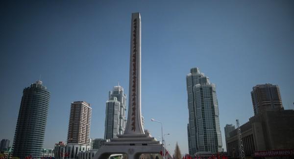 Thủ đô Bình Nhưỡng của Triều Tiên. Triều Tiên hứng chịu hàng loạt lệnh trừng phạt từ LHQ, kể từ sau khi nước này thử hạt nhân lần đầu tiên năm 2006. Ảnh: SPUTNIK