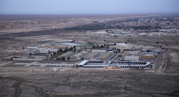 Căn cứ không quân Ayn al-Asad của Mỹ ở Iraq. Ảnh: SPUTNIK