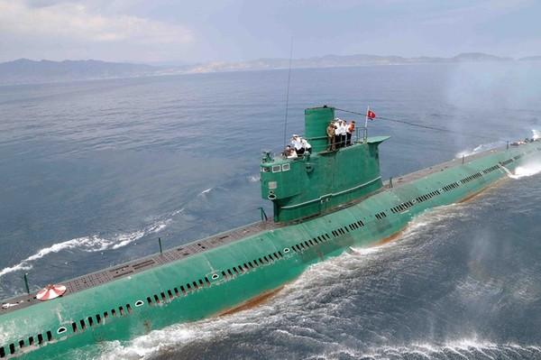 Triều Tiên là nước có hạm đội tàu ngầm lớn nhất thế giới. NATIONAL POST.COM
