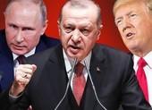 Tổng thống 'rắn tay' Erdogan khó yên khi đối đầu Mỹ lẫn Nga