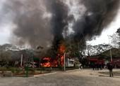 Hải Phòng: Cơ sở karaoke bị cháy rụi