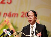 Bí thư Thành ủy Hải Phòng Lê Văn Thành tái đắc cử nhiệm kỳ mới