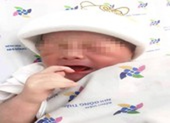 Bé trai bị bỏ rơi ven đường, rốn chưa cắt hoại tử ở TP.HCM