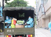 Bệnh viện dã chiến ở Thuận Kiều Plaza đã tiếp nhận bệnh nhân COVID-19
