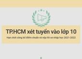 TP.HCM xét tuyển lớp 10 năm học 2021-2022: Những hạn chót cần lưu ý
