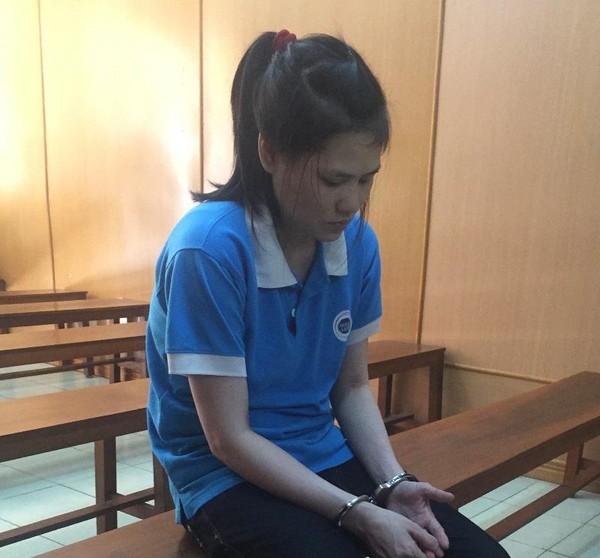 Bị cáo Liên tại phiên xử
