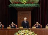 Toàn cảnh bầu Bộ Chính trị, Tổng bí thư, Ban bí thư khóa XIII