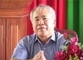 Khởi tố, bắt giam cựu Phó Chủ tịch Khánh Hòa Đào Công Thiên