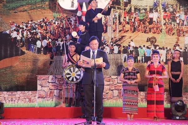 Ông Lê Trí Thanh phát biểu tại lễ khai mạc