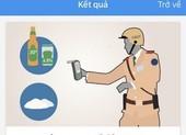 TP.HCM: Dân có thể tự kiểm tra nồng độ cồn bằng app