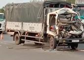 Ô tô tải tông xe máy cày làm 2 người chết, 1 bị thương