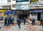 Vụ nổ sập tường ở Phú Nhuận: Nghi do chất nổ