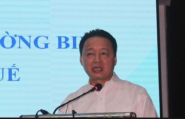 Bộ trưởng Bộ TN&MT Trần Hồng Hà