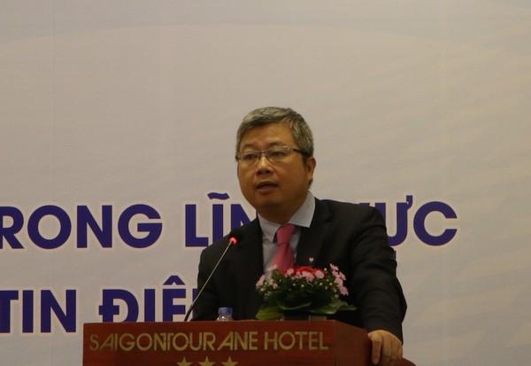 Ông Nguyễn Thanh Lâm (Cục trưởng Cục Phát thanh, Truyền hình và Thông tin điện tử). Ảnh : Anh Thư