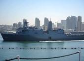 Tàu Hải quân Hoa Kỳ cập Cảng Quốc tế Cam Ranh