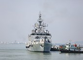 Đà Nẵng đón tàu chiến tàng hình của hải quân Ấn Độ