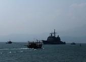 1 tàu ngư dân Đà Nẵng chìm trên biển vì bão số 5