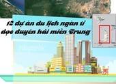 12 dự án khủng dọc biển miền Trung vừa trao quyết định đầu tư