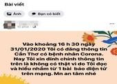 Cần Thơ: Nữ bác sĩ thông tin sai về dịch Corona