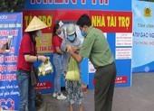 Công an Vĩnh Long lắp đặt ATM gạo hỗ trợ người khó khăn