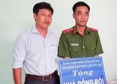 Báo Pháp Luật TP.HCM trao nhà tình thương tại Trà Vinh