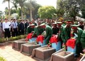 Xúc động lễ an táng 16 liệt sĩ hy sinh ở Campuchia