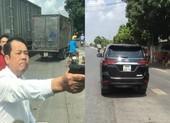 1 giám đốc chĩa súng dọa bắn vì mâu thuẫn giao thông