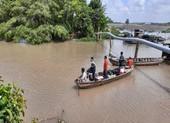 2 chị em họ bị đuối nước trên sông Hậu