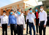 Bộ Y tế kiểm tra công tác phòng chống COVID-19 tại Đồng Tháp