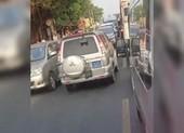 An Giang thông tin clip xe biển xanh lấn làn đường ngược chiều