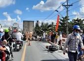 Tai nạn trên cầu Ngã Tư, 1 người bị xe cán tử vong